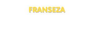 Der Vorname Franseza