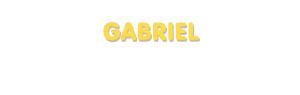 Der Vorname Gabriel