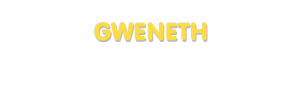 Der Vorname Gweneth