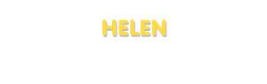 Der Vorname Helen