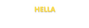 Der Vorname Hella