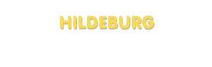 Der Vorname Hildeburg