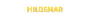 Der Vorname Hildemar