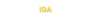 Der Vorname Ida