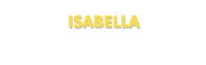 Der Vorname Isabella