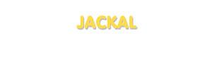 Der Vorname Jackal