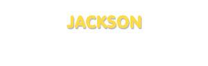 Der Vorname Jackson