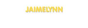 Der Vorname Jaimelynn