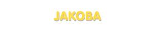Der Vorname Jakoba