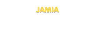 Der Vorname Jamia