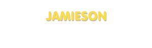 Der Vorname Jamieson
