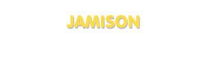Der Vorname Jamison