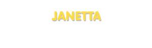 Der Vorname Janetta