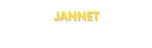 Der Vorname Jannet