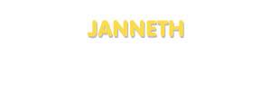 Der Vorname Janneth