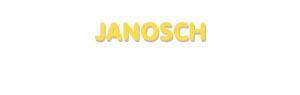 Der Vorname Janosch