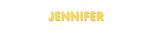 Der Vorname Jennifer