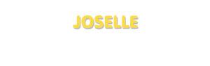 Der Vorname Joselle