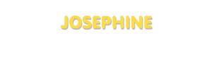 Der Vorname Josephine