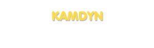 Der Vorname Kamdyn