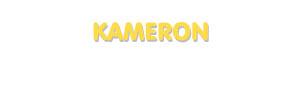 Der Vorname Kameron