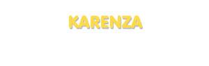 Der Vorname Karenza