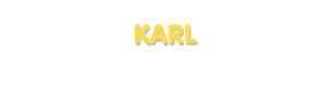 Der Vorname Karl
