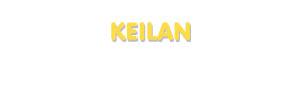 Der Vorname Keilan