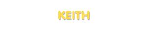 Der Vorname Keith