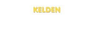 Der Vorname Kelden