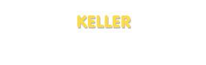 Der Vorname Keller