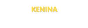 Der Vorname Kenina