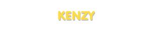 Der Vorname Kenzy
