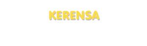 Der Vorname Kerensa