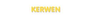 Der Vorname Kerwen