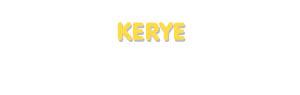 Der Vorname Kerye
