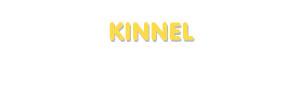 Der Vorname Kinnel