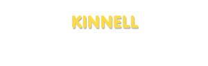 Der Vorname Kinnell