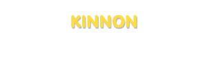 Der Vorname Kinnon