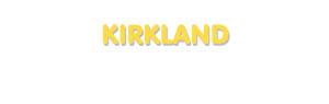 Der Vorname Kirkland