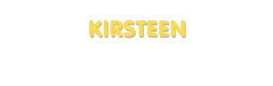 Der Vorname Kirsteen