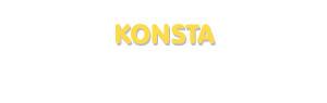 Der Vorname Konsta