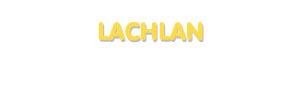 Der Vorname Lachlan