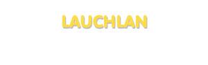 Der Vorname Lauchlan