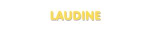 Der Vorname Laudine