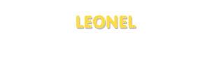 Der Vorname Leonel