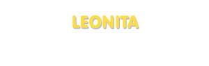 Der Vorname Leonita