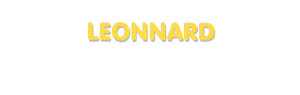 Der Vorname Leonnard