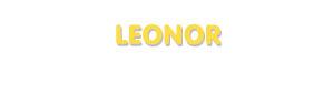 Der Vorname Leonor