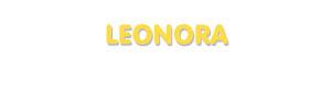 Der Vorname Leonora